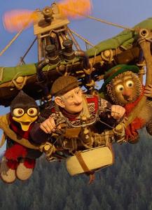 Animirani film Ježek in vran na sirovi dirki