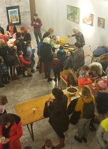 Novoletna zabava z delavnicami